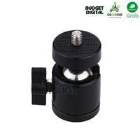 Swivel Mini Ball Head 1/4 Screw for DSLR Camera Tripod Ballhead Stand