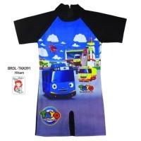 Baju Renang Diving Anak Usia 3-7 th Karakter Tayo BRDL-TKK091