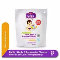 Sleek Baby Bottle Nipple & Accessories Cleanser 70 mL travel size
