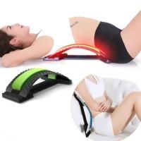 Sandaran Lumbar Spinal Stretching Support Terapi Sakit Pinggang Waist