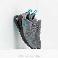 Sepatu Nike Air Max 270 Cool Grey Blue Furry Black