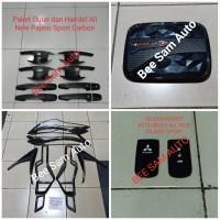 Paket Aksesoris Mobil Mitsubishi All New Pajero Sport Black Carbon