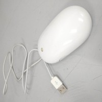 Mouse USB Apple Putih