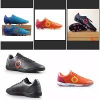 Sepatu futsal murah ortuseight catalyst oracle black original