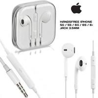 hf Handsfree ORIGINAL iphone 5 6 + / ipod / ipad Earphone Apple Kabel