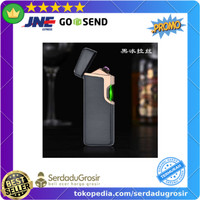 Korek Api Elektrik USB Pulse Plasma Arc Fingerprint Touch Sensor JL809