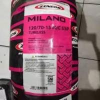 BAN LUAR ZENEOS MILANO 120/70 13 NMAX N-MAX N MAX DEPAN