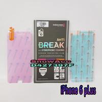 Anti Gores Indoscreen Anti Break Iphone 6 Plus / 6S Plus free belakang