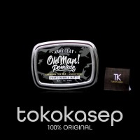 POMADE OHMAN OH MAN ARMY CLAY PROFESSIONAL MATTE WATERBASED FREE SISIR