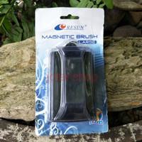 magnetic brush resun large besar L magnet pembersih kaca aquarium aqua