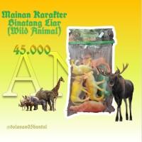 Mainan Karakter Binatang Liar ( Animal World )