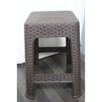 bangku plastik bakso motif rotan kursi murah tapi bukan murahan