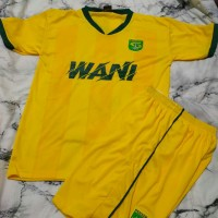 baju bola Jersey persibaya latihan kuning