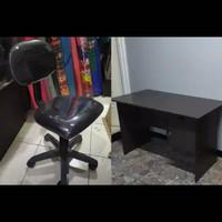 1 set Kursi+Meja kantor