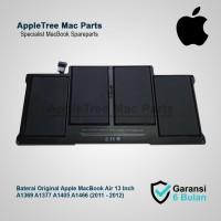 Baterai Original Apple A1369 A1377 A1405 A1466 MacBook Air 13 Inch