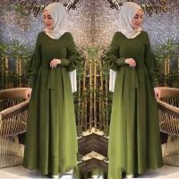 Audy maxy baju gamis pakaian wanita dress fashion muslim