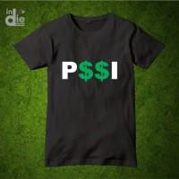 Kaos Baju Unik Combed 30s Distro Pi Pssi Shit Persatuan Sepak Bola