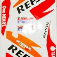 Striping Stiker CBR 150 fi Thailand Repsol 2011 2012 2013 pah The
