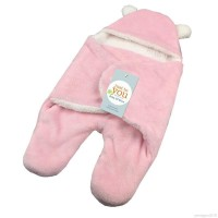 Promo PENTAGON born Baby lambskin soft Hooded Blanket Warm Wraps