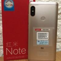 Xiaomi Redmi Note 5 Pro Gold Ram 6 internal 64 Gb - Garansi distri