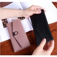 FTS155 BEAU Dompet Panjang Wanita Import Batam Branded Kulit Quality