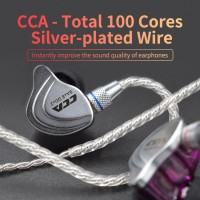 Stok Terbatas 【 】 Headset cca 100 Core 4 Untai Untuk HiFi c10