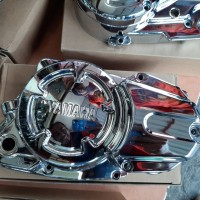 Jual Bak Kopling Kanan Kiri RX King New Finishing Krom Kontes Awet