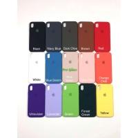 C201.5 Iphone XR Original FULL Apple Silicon Leather Case Silicone