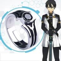 Cincin Deluxe Anime Sword Art Online Kirito Cosplay Kirigaya Kazuto