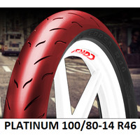Ban Corsa 100/80-14 R46 Platinum Soft Compound Racing Tubeless