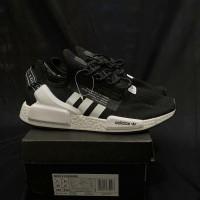 Adidas NMD R1 v2 black white premium