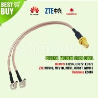 Pigtail Modem Dual Huawei E3276, E3272, E3372, K5007