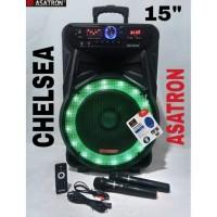 CHELSEA Speaker Portable Asatron Chelsea 8873 15inch EQUALIZER