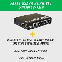 Paket Usaha RT RW NET Mikrotik RB450Gx4