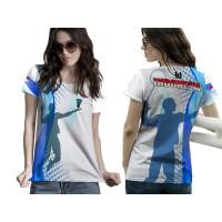 2season5 Kaos Baju Tshirt Wanita BADMINTON/BULUTANGKIS 03 Fullprint