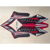 Stiker striping RX King 2008 Merah