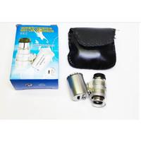 Mini Mikroskop 60X / Kaca Pembesar
