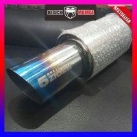 Knalpot Mobil 5zigen Muffler Burn Blue