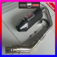 Knalpot Yoshimura USA Fullsystem R15 CBR150 GSXR150 CB150r Byson CB150