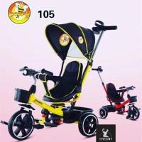 Sepeda Roda Tiga Anak Pacific 105 Stroller Headlight