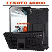 Rugged Armor Lenovo A6000 casing back cover kick stand shockproof