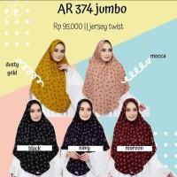 Hijab Instan Kerudung Motif Jumbo Arrafi AR 374 Jumbo