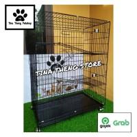 Kandang Kucing  KANDANG TINGKAT 4 JUMBO XXL 90x55x130cm