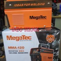 Megatec MMA-120 900 Watt Mesin Las Inverter Welding Manchine