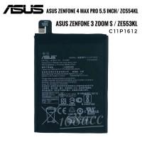 Baterai Batre Asus Zenfone 3 Zoom S 4 Max Pro 5.5 inch ZC554KL ZE553KL