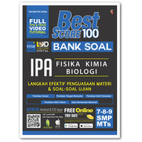 Buku Best Score 100: Bank Soal IPA SMP 7 8 9