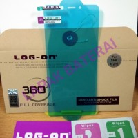 ANTI GORES JELLY ANTISHOCK SAMSUNG A9 2018 LOG ON SCREEN GUARD
