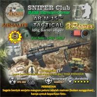 XPower AR M-15™ TACTICAL long barrel sniper. Airsoft Spring.