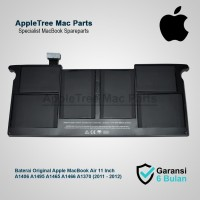 Baterai Original Apple A1406 A1495 A1465 A1466 A1370 MacBook Air 11
