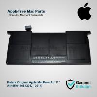 """Baterai Original Apple A1495 A1465 MacBook Air 11"""" (2012 - 2014)"""